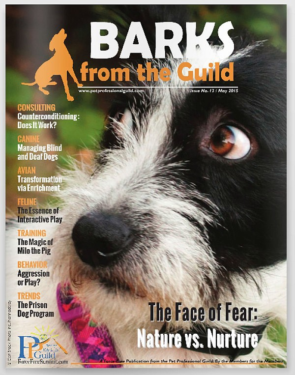 the May issue of BARKS from the Guild